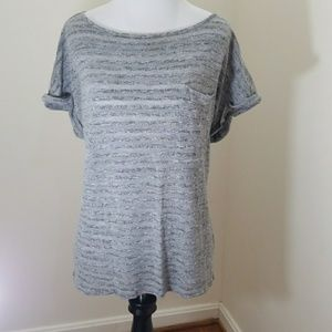 Calvin Klein semi sheer top size L